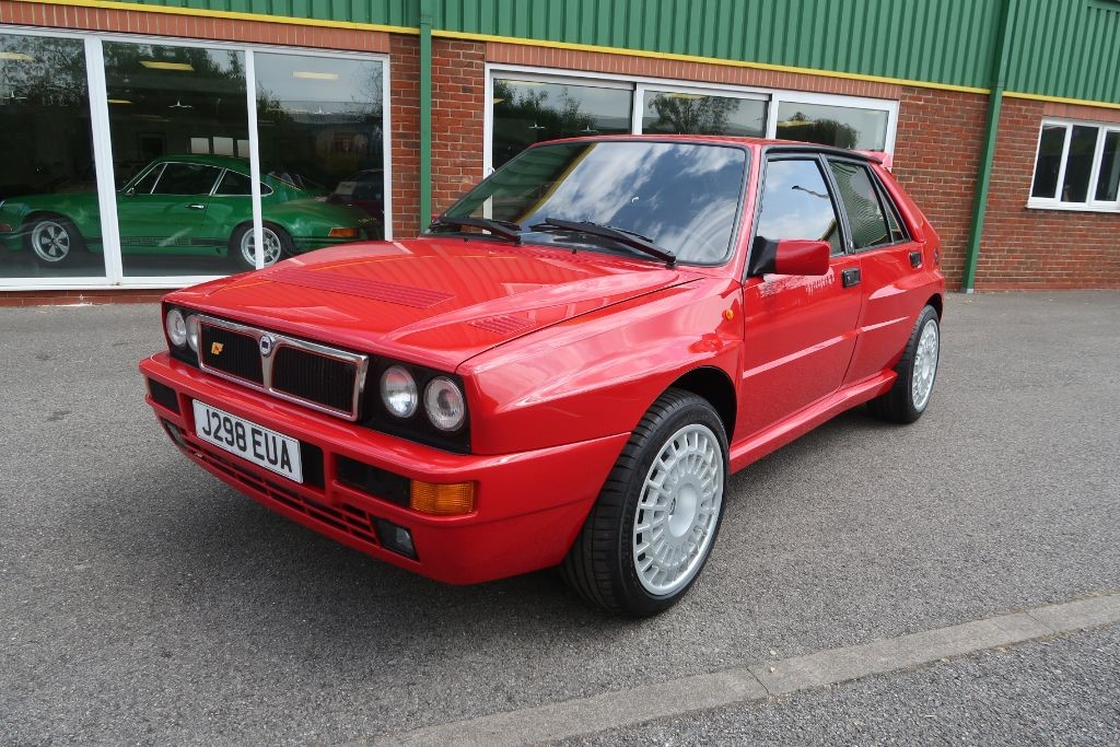 used monza red lancia delta for sale | lincolnshire