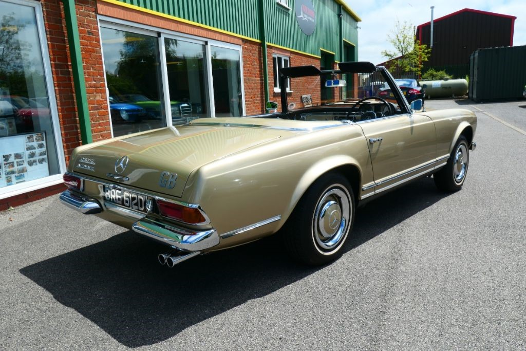 Used Tunis Beige metallic DB462 Mercedes SL For Sale   Lincolnshire