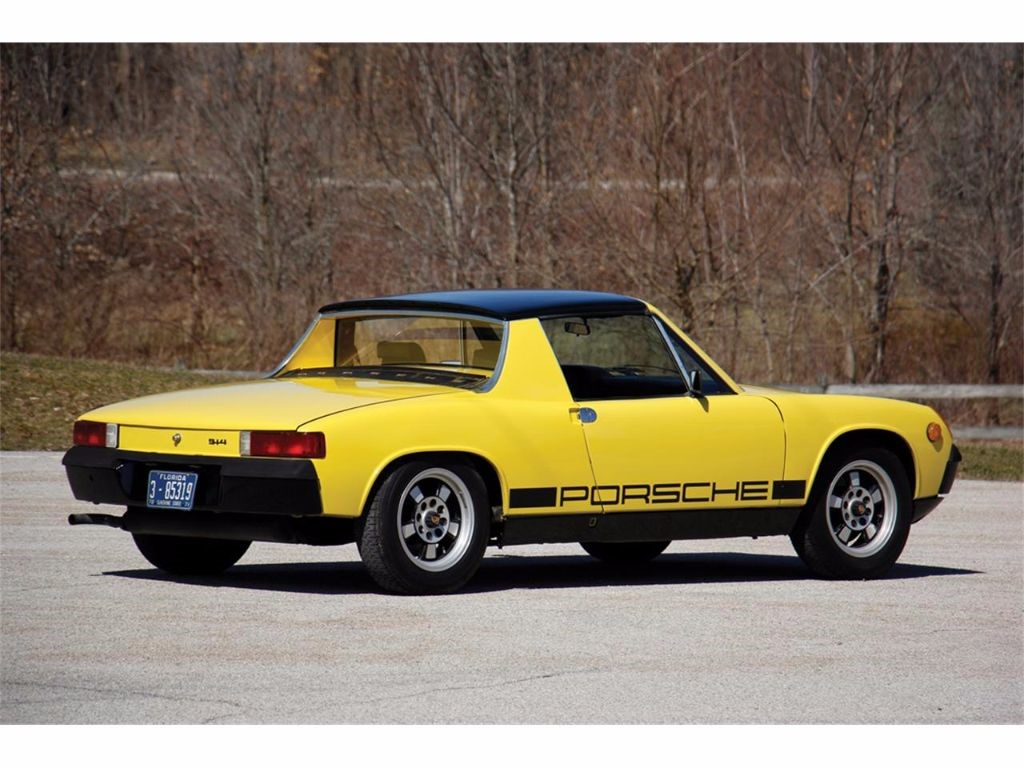 used canary yellow porsche 914 for sale lincolnshire. Black Bedroom Furniture Sets. Home Design Ideas