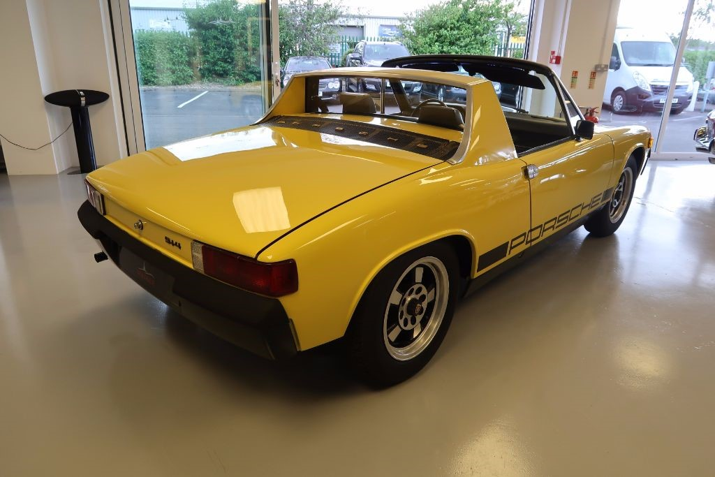 Used Canary Yellow Porsche 914 For Sale Lincolnshire
