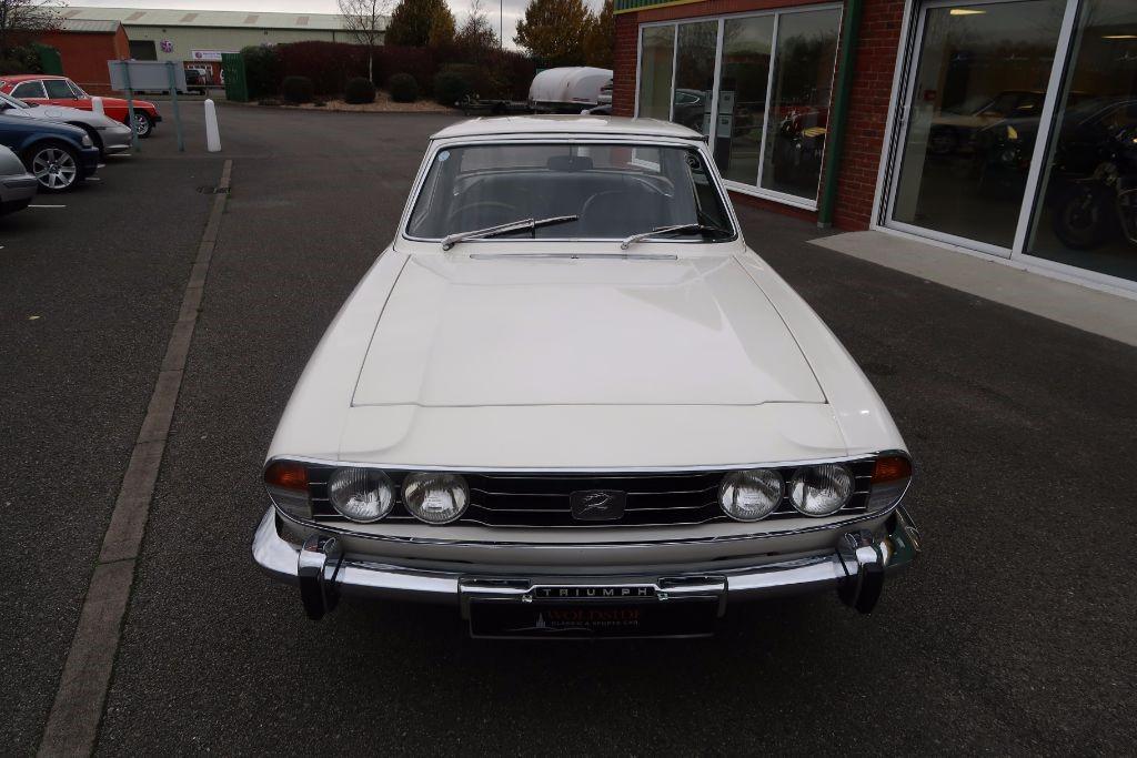 Used White Triumph Stag For Sale Lincolnshire
