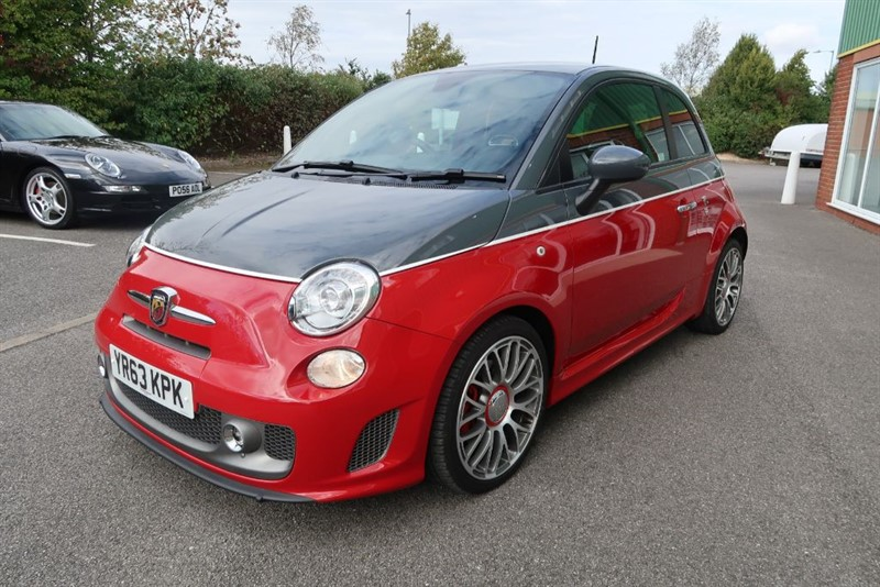 used Abarth 595 Turismo 1.4 T-Jet (160BHP) in louth