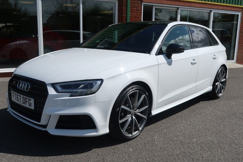 used Audi S3 Sportback 2.0 TFSI Quattro Black Edition 1,000 Miles Only in louth