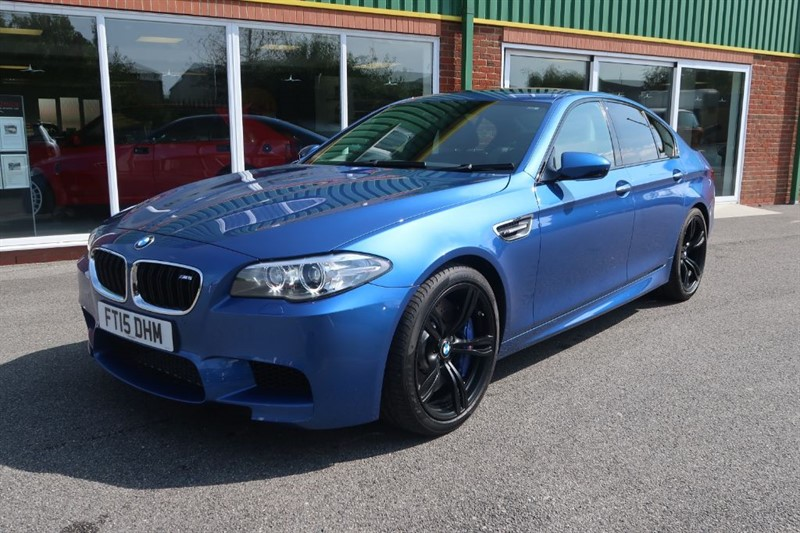 used BMW M5 4.4 V8 DCT Auto 141 MILES FROM NEW in louth