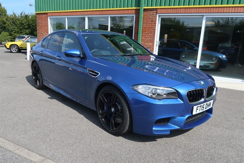 used BMW M5 4.4 V8 DCT Auto 3,100 MILES FROM NEW in louth