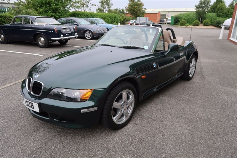 used BMW Z3 1.9 Roadster, 11,000 miles only in louth