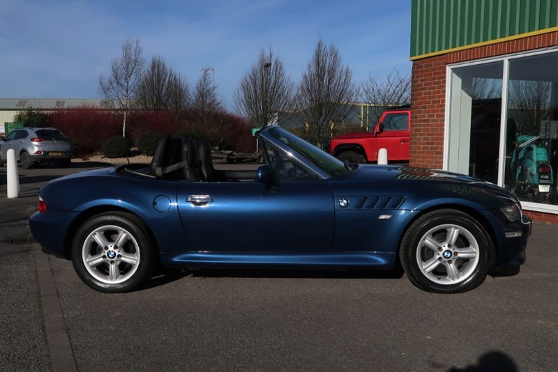 Used Topaz Blue Metallic Bmw Z3 For Sale Lincolnshire