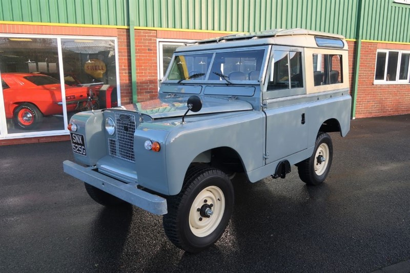 "used Land Rover  Series 2a 88"" SWB Station Wagon in louth"