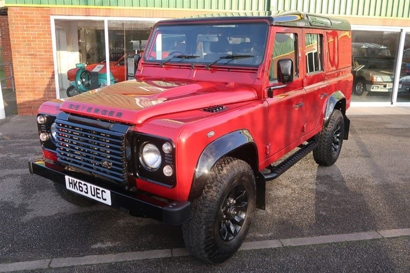 used Land Rover Defender 110 TD XS UTILITY WAGON in louth