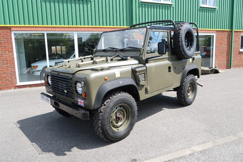 used Land Rover Defender Defender 90 Wolf Military in louth