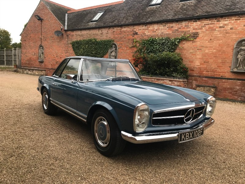 used Mercedes 280SL Pagoda in louth