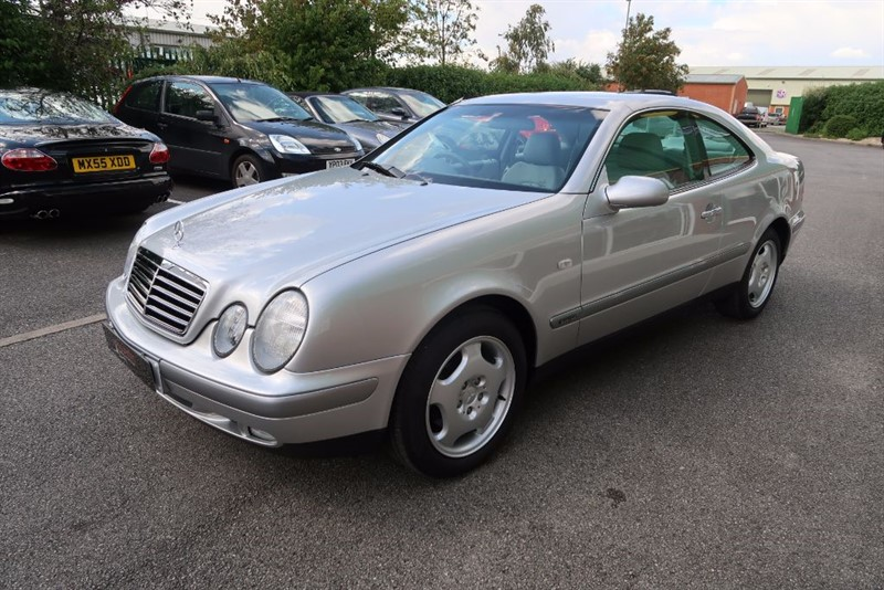 used Mercedes CLK230 CLK 230 Kompressor Elegance 2dr Coupe Auto in louth
