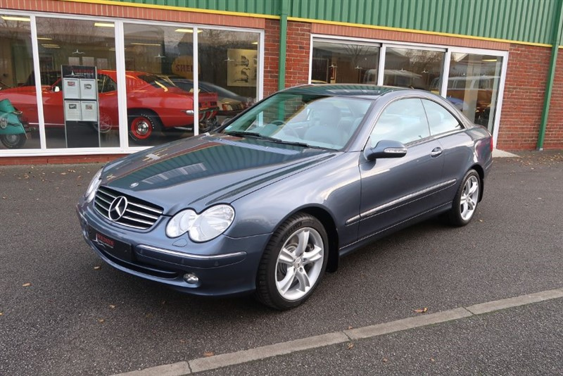 used Mercedes CLK500 Avantgarde 5.0V8 2dr Low Mileage in louth