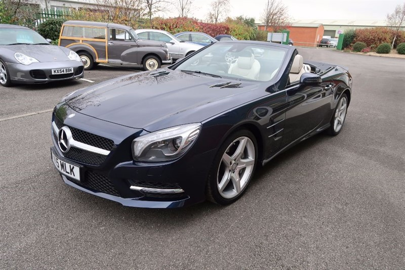 used Mercedes SL SL400 AMG Sport 2dr Convertible in louth