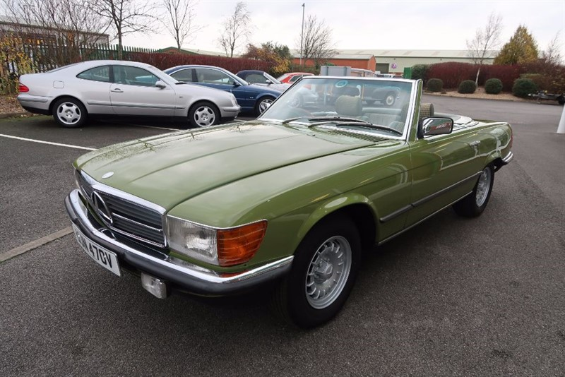 used Mercedes SL R107 450SL 2dr Auto in louth