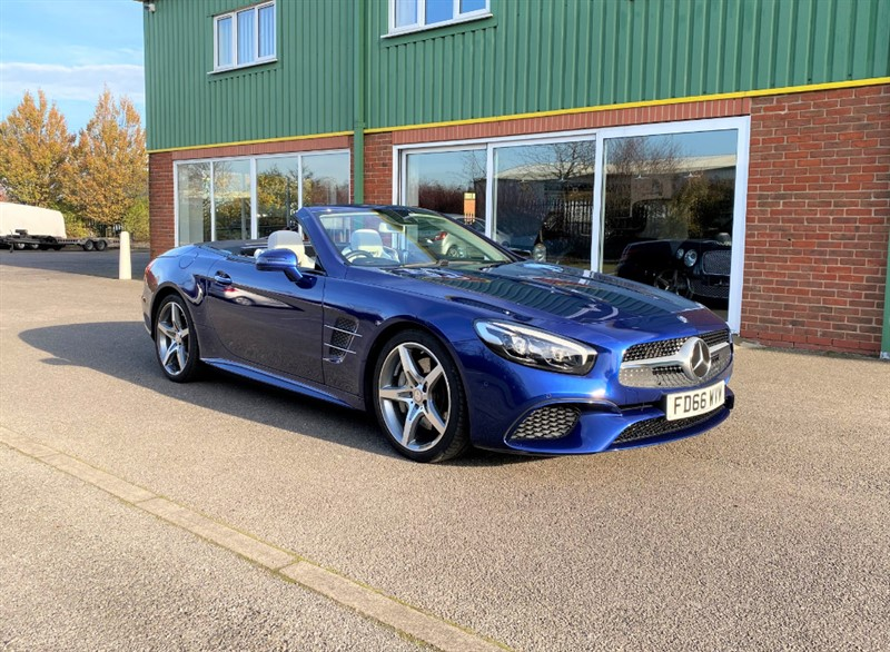 used Mercedes SL SL 400 AMG LINE one owner 18,000 miles in louth