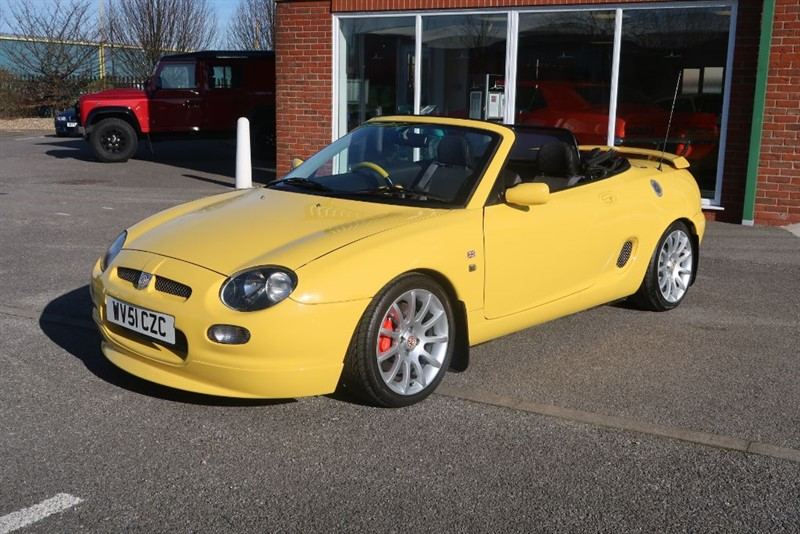 used MG MGF Trophy VVC 160 Convertible  in louth