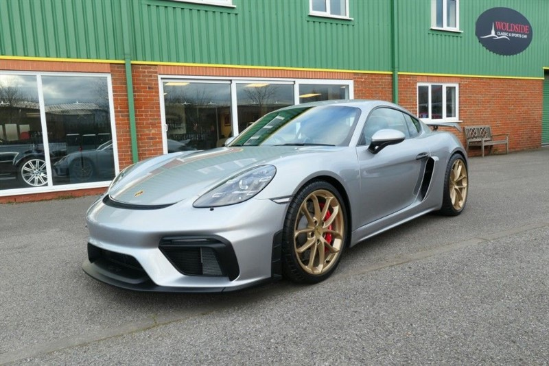 used Porsche 718 Cayman GT4 in louth