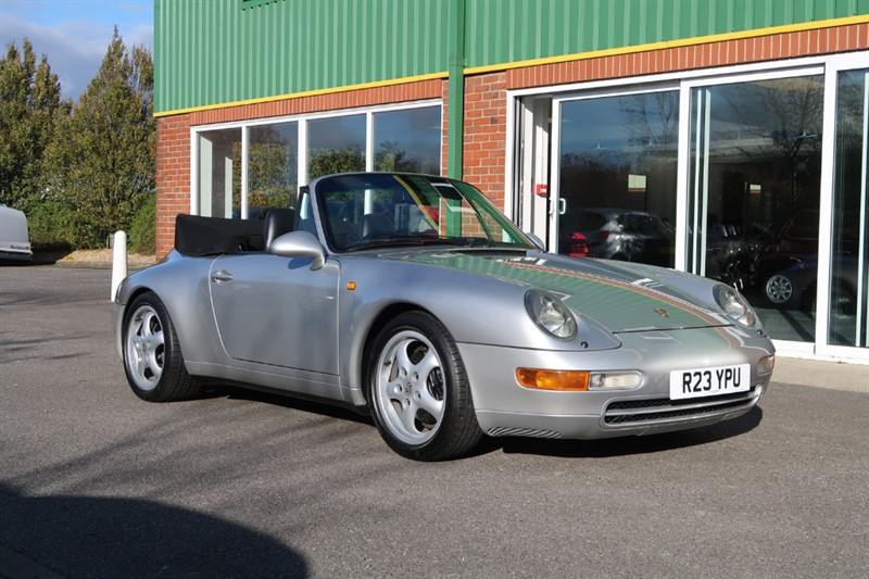 used Porsche 911 993 Carrera 2 Cabriolet 6 speed Varioram in louth