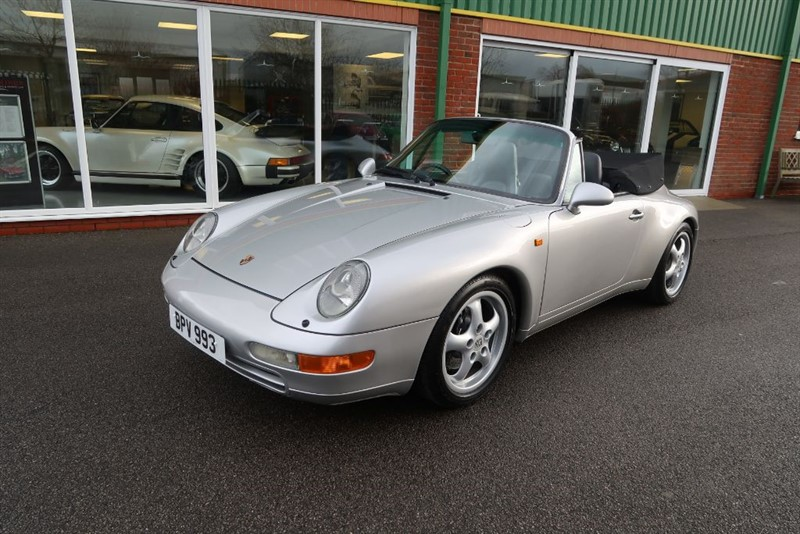 used Porsche 911 993 Carrera 2 Cabriolet 6 speed manual in louth
