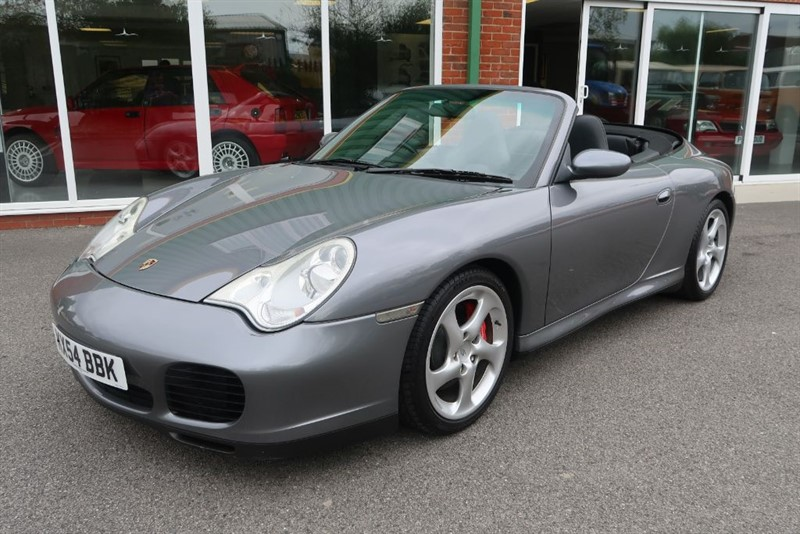 used Porsche 911 996 Carrera 4S Cabriolet 6 speed in louth