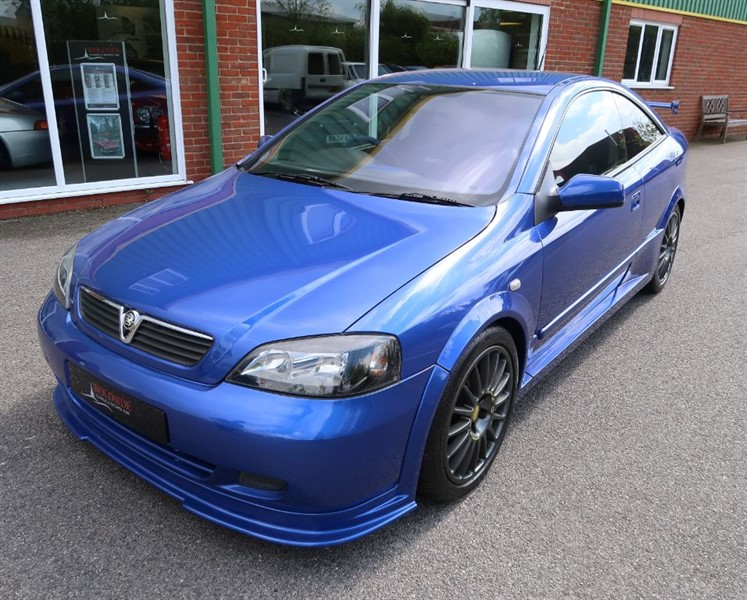 used Vauxhall Astra Triple 888 2.0i 16v Turbo Coupe in louth