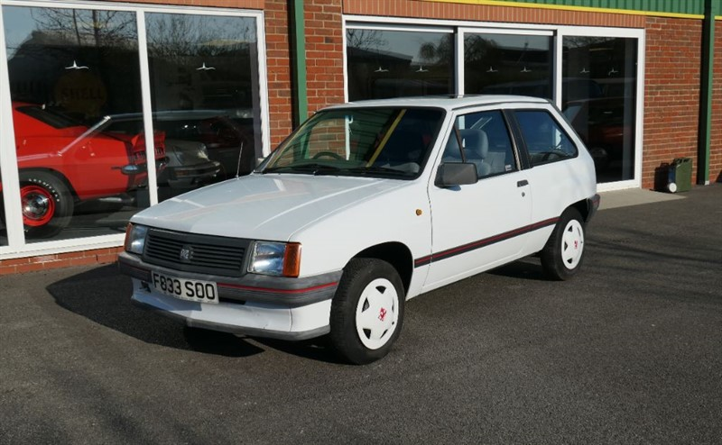 used Vauxhall Nova Sting 1.2 3dr with Factory Sunroof in louth