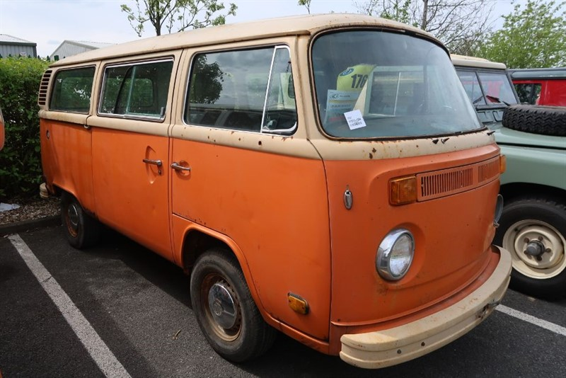 used VW Campervan Late Bay Microbus LHD Auto FOR RESTORATION in louth