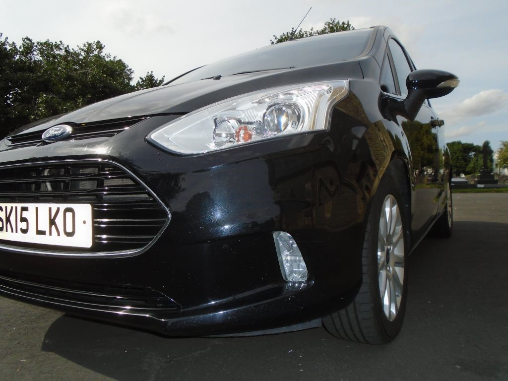 Used Black Ford B Max For Sale Cheshire Vehicle Summary