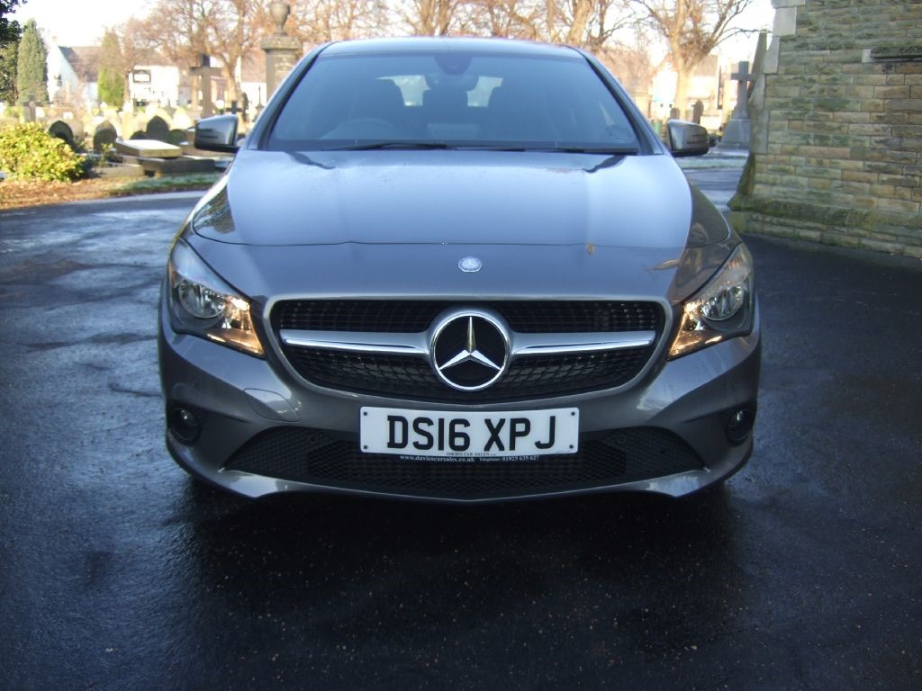 used grey mercedes cla 220 cdi for sale cheshire. Black Bedroom Furniture Sets. Home Design Ideas