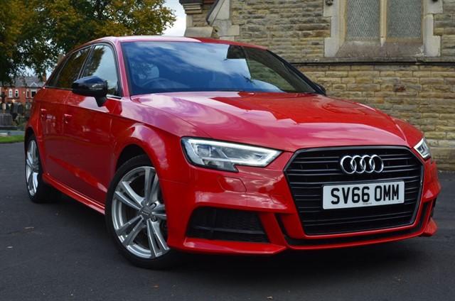 used Audi A3 TFSI S LINE in warrington
