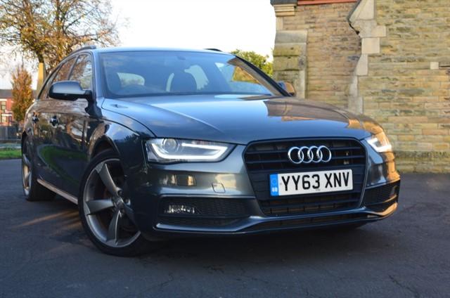 used Audi A4 Avant TDI S LINE BLACK EDITION in warrington