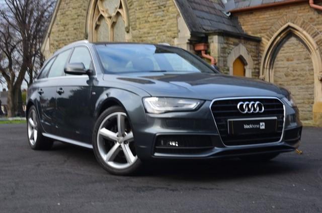 used Audi A4 Avant TDI S LINE in warrington