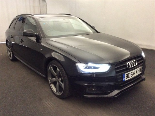 used Audi A4 Avant TDI S LINE BLACK EDITION in warrington