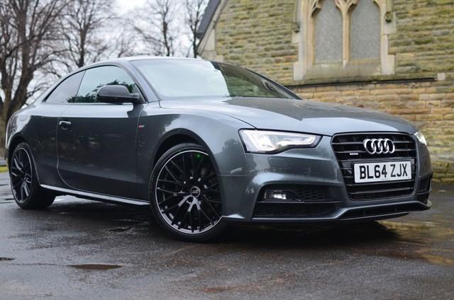 used Audi A5 TDI QUATTRO S LINE BLACK EDITION PLUS in warrington