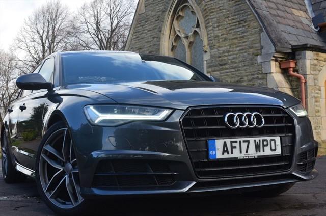 used Audi A6 TDI ULTRA  BLACK EDITION in warrington