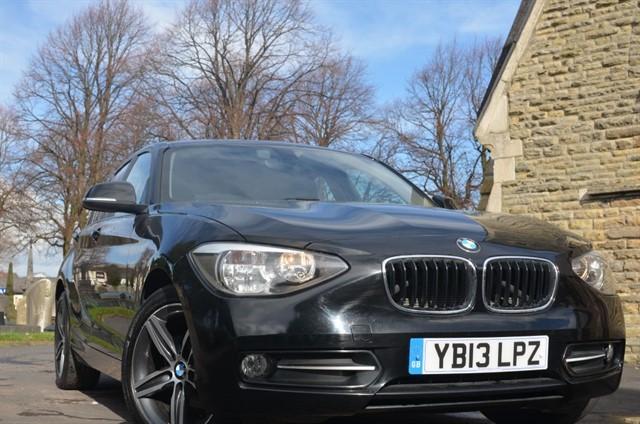 used BMW 114d SPORT in warrington