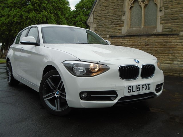 used BMW 116d SPORT in warrington