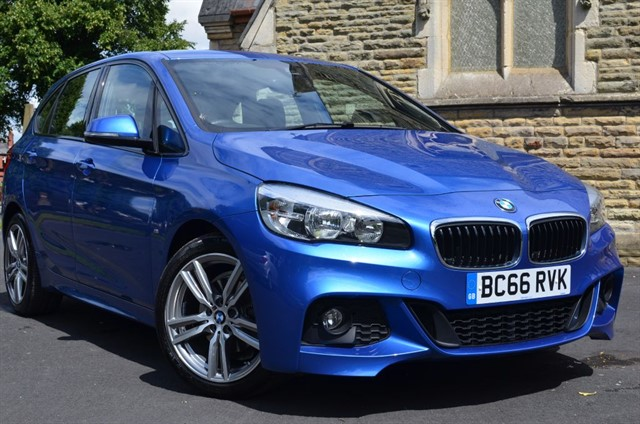 used BMW 218d M SPORT ACTIVE TOURER in warrington