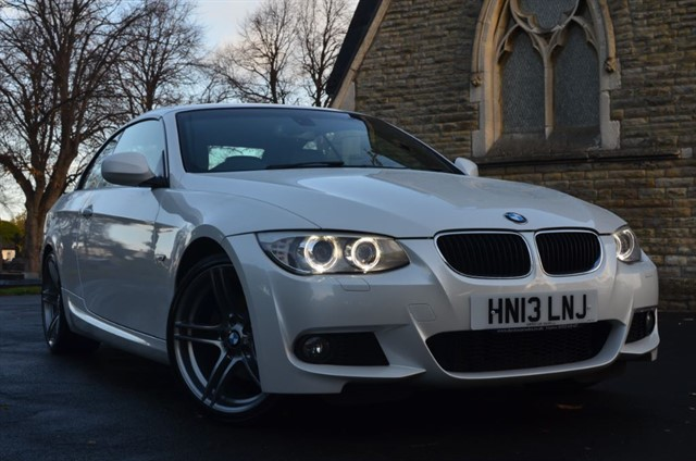 used BMW 320d M SPORT in warrington