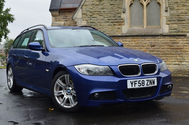 used BMW 320d M SPORT TOURING in warrington