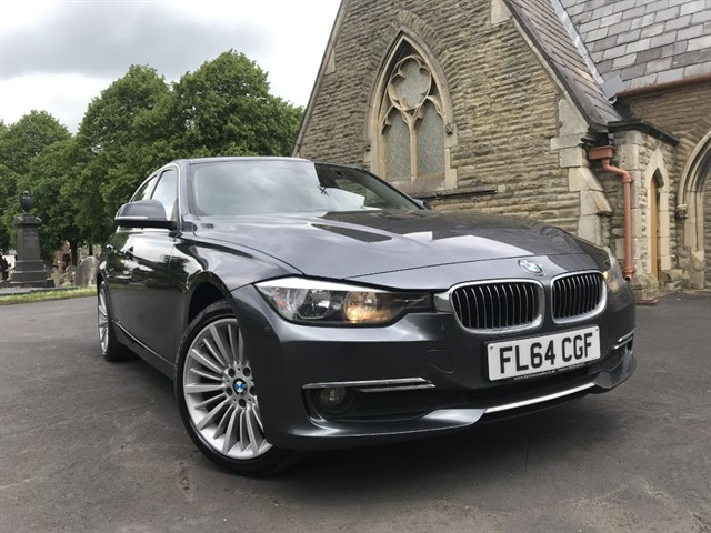 used BMW 320d LUXURY in warrington
