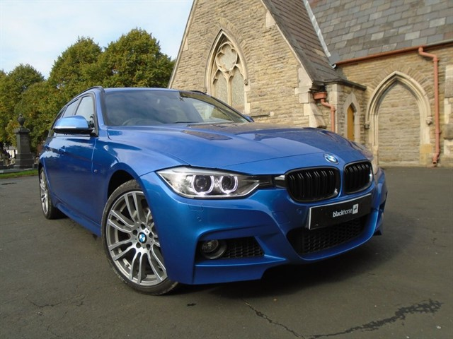 used BMW 330d XDRIVE M SPORT TOURING in warrington