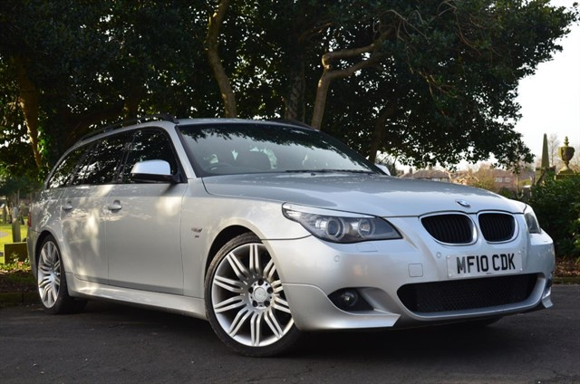 used BMW 520d M SPORT BUSINESS EDITION TOURING in warrington
