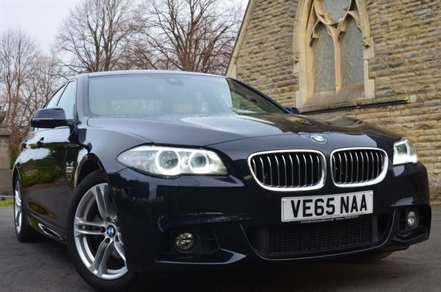 used BMW 520d M SPORT in warrington