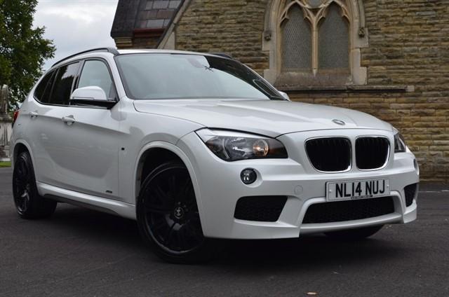 used BMW X1 XDRIVE18D M SPORT in warrington