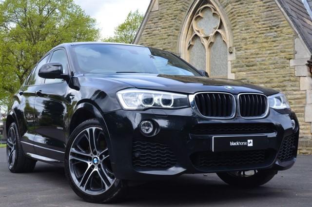 used BMW X4  XDRIVE20D M SPORT in warrington