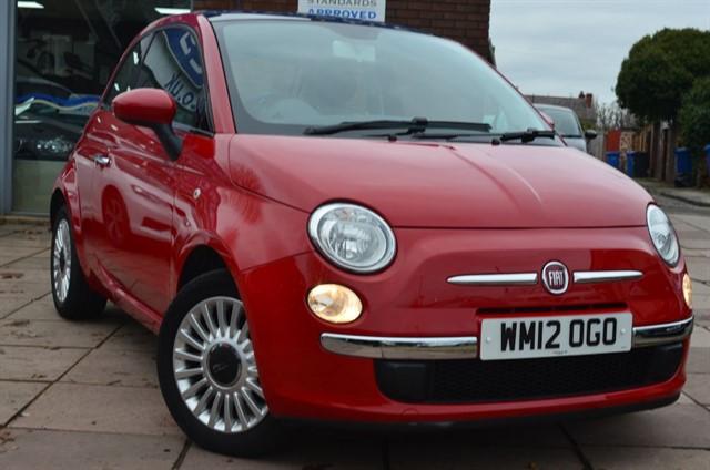 used Fiat 500 LOUNGE in warrington