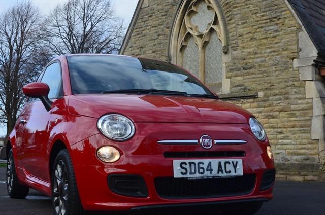 used Fiat 500 S in warrington