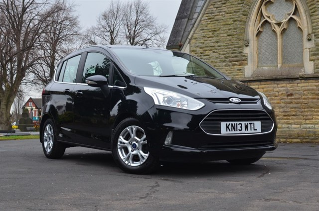 used Ford B-Max ZETEC in warrington